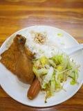 Китайский рис ноги цыпленка стоковые изображения rf