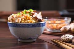 Китайский рис пара Стоковая Фотография RF