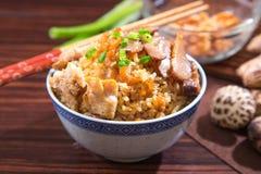 Китайский рис пара Стоковые Фото
