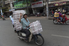 Китайский рынок в Хо Ши Мин Стоковые Фото