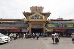 Китайский рынок в Хо Ши Мин Стоковые Изображения RF