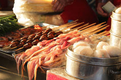 китайский рынок Стоковое фото RF