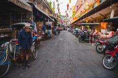 Китайский рынок Warorot стоковое изображение rf