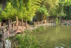 китайский сад традиционный Стоковая Фотография RF