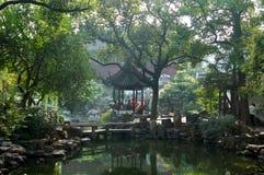 китайский сад Стоковые Изображения RF