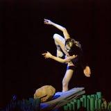 Китайский самомоднейший сольный танцор Стоковые Фотографии RF