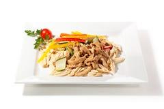 Китайский салат кожи тофу Стоковое фото RF