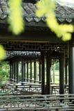 Китайский сад, китайская архитектура Стоковое Изображение RF
