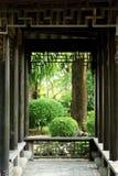 Китайский сад, китайская архитектура Стоковые Фото