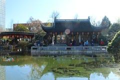 Китайский сад Портленд Стоковое Изображение