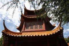 Китайский сад приятельства Стоковые Фотографии RF