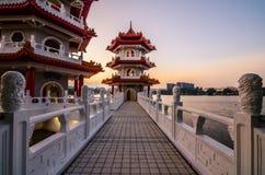Китайский сад Сингапура Стоковая Фотография RF