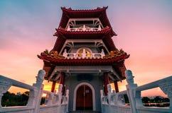 Китайский сад Сингапура Стоковое Изображение RF