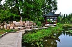 китайский сад Стоковая Фотография