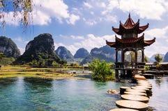 Китайский сад Стоковое фото RF