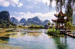 Китайский сад Стоковая Фотография RF