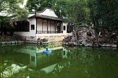 Китайский сад Стоковое Изображение RF