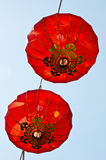 Китайский светильник фонарика Новый Год Стоковое фото RF