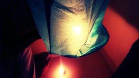 китайский светильник Стоковая Фотография