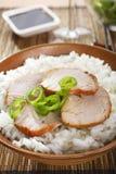 Китайский свинина Siu чарса еды стоковые фото