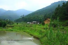 китайский сельский дом Стоковое Изображение RF
