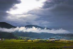 китайский сельский пейзаж Стоковая Фотография RF