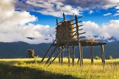 китайский сельский пейзаж Стоковое фото RF