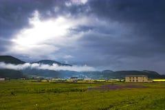 китайский сельский пейзаж Стоковые Изображения