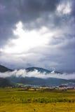 китайский сельский пейзаж Стоковая Фотография