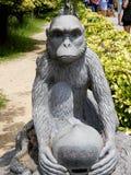 Китайский символ обезьяны Стоковая Фотография RF