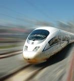 китайский скорый поезд Стоковые Изображения