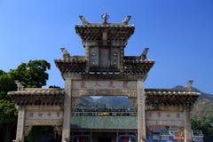 Китайский старый висок матери дракона, висок Longmu Стоковые Изображения RF