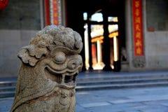 Китайский старый висок матери дракона, висок Longmu Стоковые Фото
