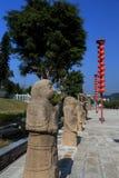 Китайский старый висок матери дракона, висок Longmu Стоковые Изображения