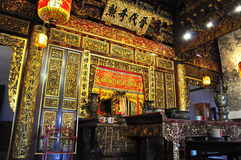 китайский старый висок стоковая фотография rf
