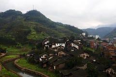 китайский старый городок Стоковые Изображения RF
