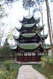 китайский старый павильон стоковое фото rf