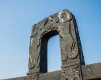 Китайский старый ритуал - звон Стоковое Изображение