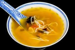 китайский суп лапши Стоковые Фото