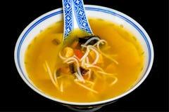 китайский суп лапши Стоковое Изображение RF