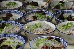 китайский суп лапши Стоковое Изображение