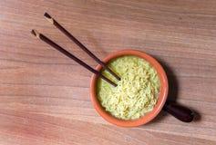 китайский суп лапши Стоковые Фотографии RF