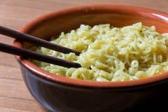 китайский суп лапши Стоковая Фотография
