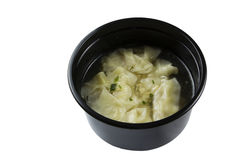 китайский суп вареника Стоковая Фотография