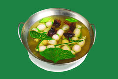 китайский суп meatball кухни Стоковые Изображения