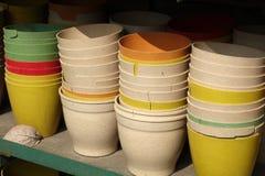 Китайский таз гончарни Стоковое Фото