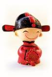 китайский танцор Стоковая Фотография
