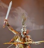 Китайский тибетский этнический танцор Стоковые Изображения RF