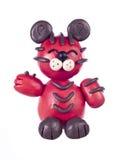 китайский тигр пластилина horoscope Стоковое Изображение