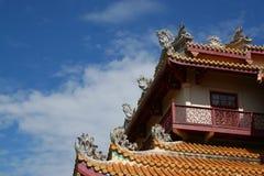 китайский тип дворца Стоковое Изображение RF